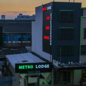 metro express exterior